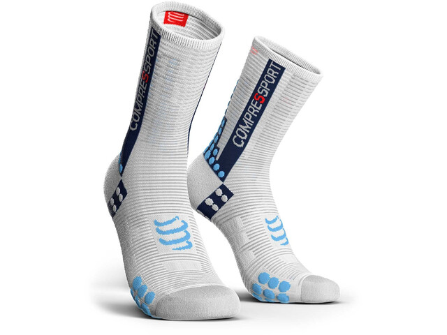 Compressport Pro Racing V3.0 Bike Cycling Socks white